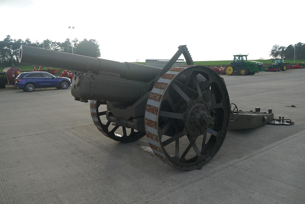 6ins Howitzer WWI Artillery Field Gun